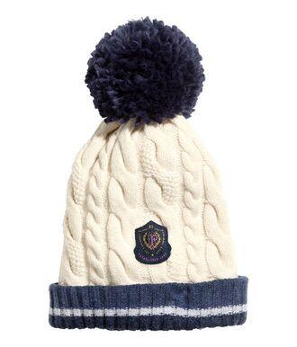 hat beanie cap clothes winter outfits preppy pom pom beanie