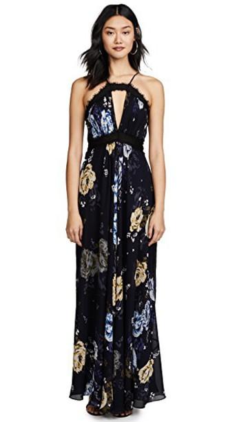 Jill Jill Stuart gown floral dress