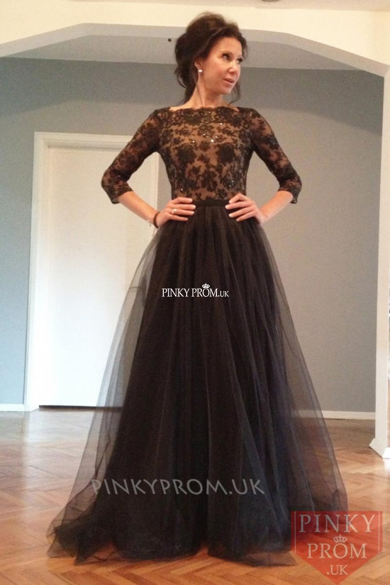 79b6464ac45d Turmec » long sleeve black prom dress uk