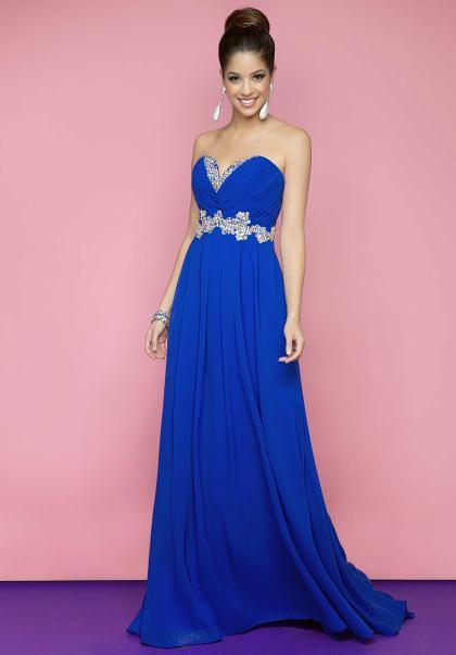 Blush Dresses 9616 at Peaches Boutique