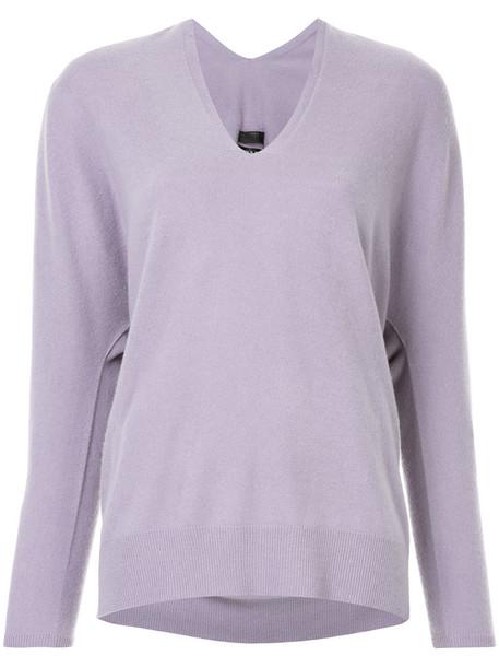 Aula jumper women purple pink sweater