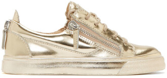 london sneakers gold shoes