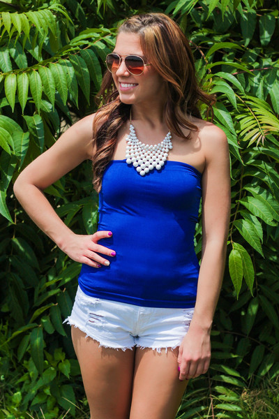 Must Have Solid Tube Top | uoionline.com: Women's Clothing Boutique