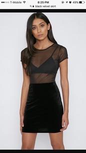 shirt,black,mesh,instragram style,fishnet top,summer,fall outfits,grunge,clubwear