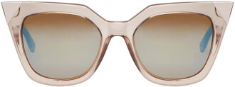 transparent sunglasses grey