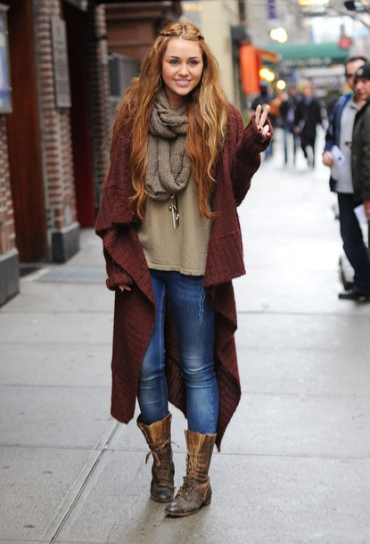 cardigan miley cyrus coat