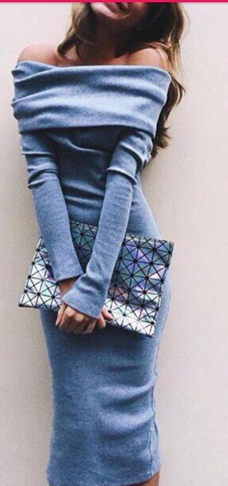 bag geometric print bag oversized clutch shiny slivery rainbow colour
