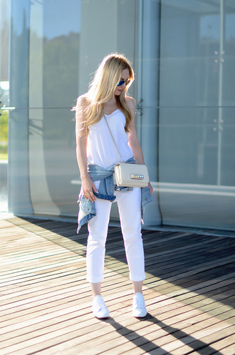 oh my vogue top jeans jacket shoes bag sunglasses jewels