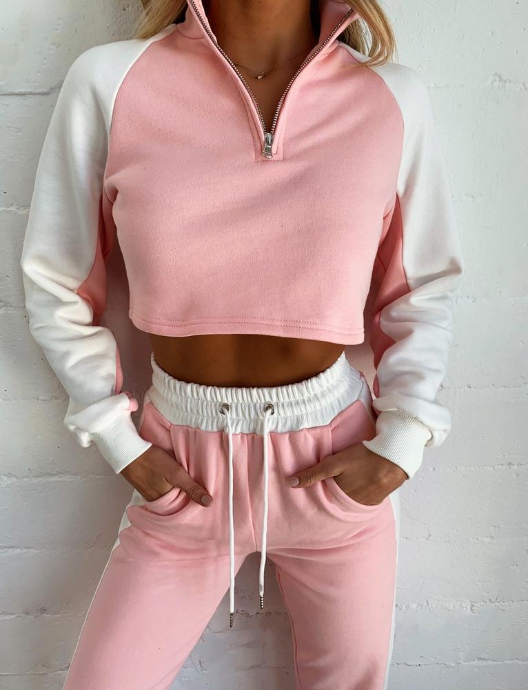 Denzel Jumper - Pink - S PINK