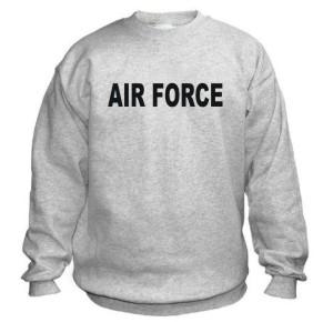 Buy Air Force PT Sweatshirt at Army Surplus World