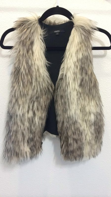 Naven Fur Vest | eBay