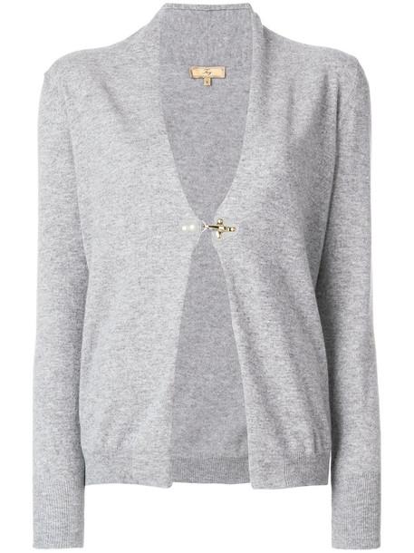 FAY cardigan cardigan women wool grey sweater