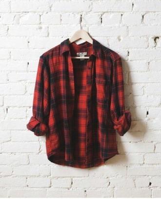 blouse flannel shirt plaid shirt flannel