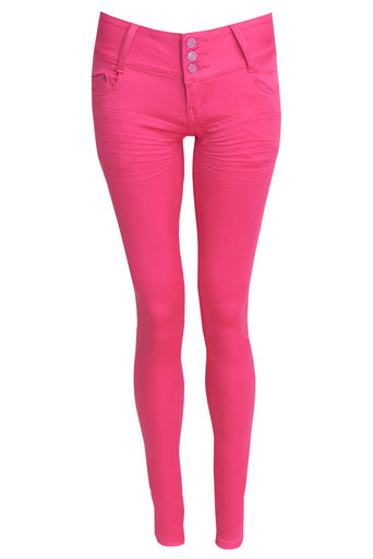 Ellema High Waisted Skinny Jeans - Pop Couture