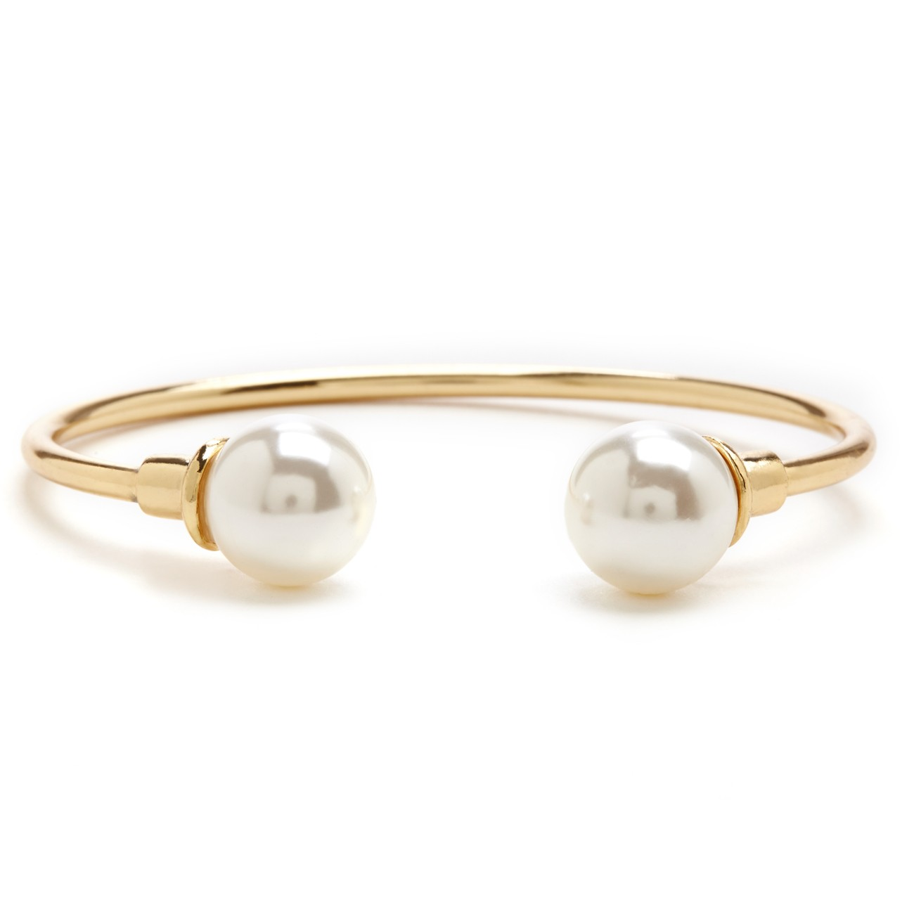 c-shaped pearl bracelet