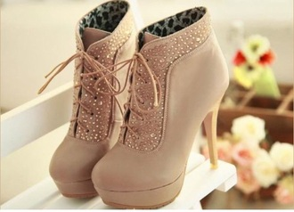 boots glitter heels girly girly wishlist platform lace up boots