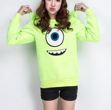 Eyes printed sweatshirt