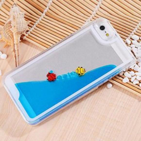 iphone case phone case tranparent fishtankcase cutefishcase