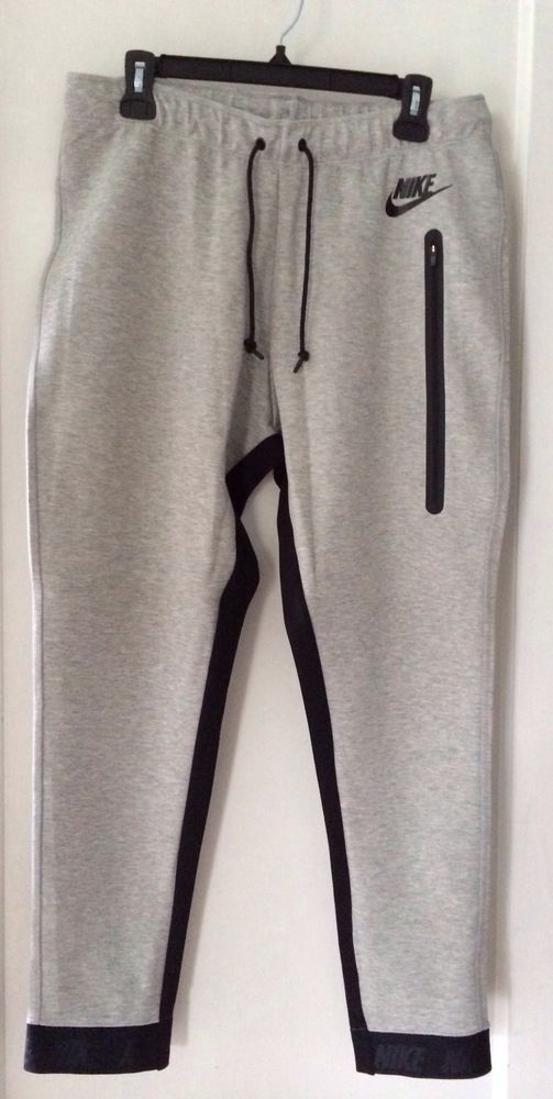 Wonderful NIKE WOMENS TECH FLEECE PANT 683800091 GREY XS S M L  EBay