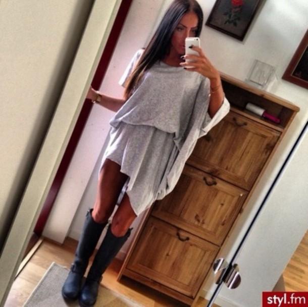 dress maxi dress oversized