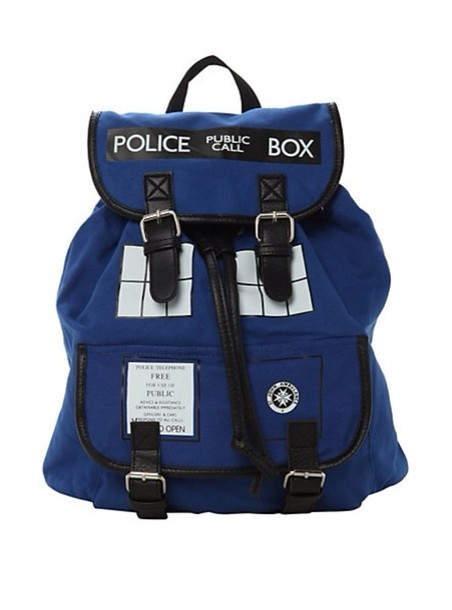 bag doctorwho tardis cute police girly