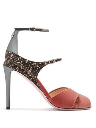 velvet sandals sandals velvet pink shoes