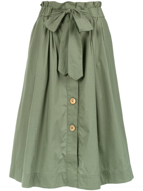 Sissa skirt midi skirt women midi cotton