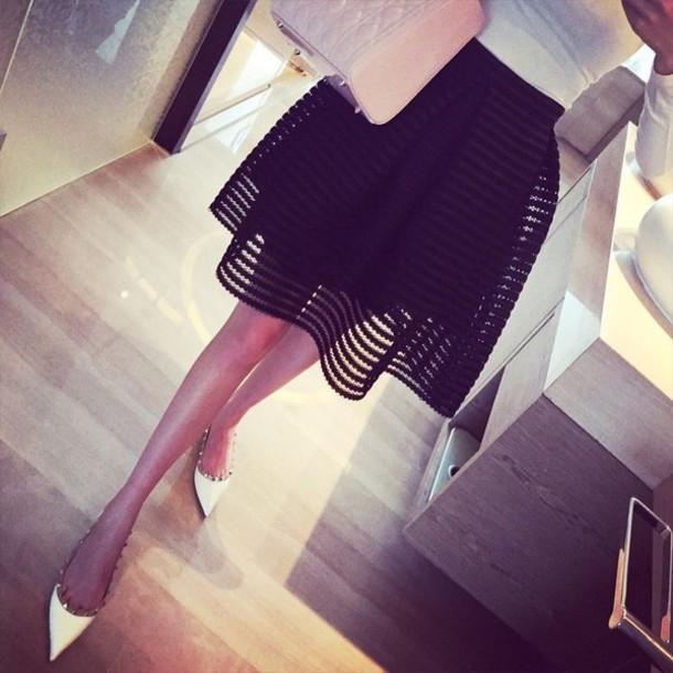 37ec5a614e3 shoes flats studded flats white pretty classy studs studded shoes pointed flat  shoes