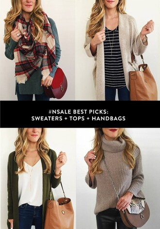 brighton the day blog | dallas fashion blog blogger cardigan tank top jewels bag jeans sweater jacket top
