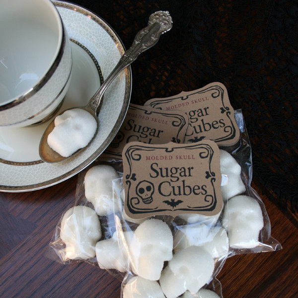 Sugar Cube Skulls - 1 Bag of Four Skulls sugar skulls Buzzfeed.com