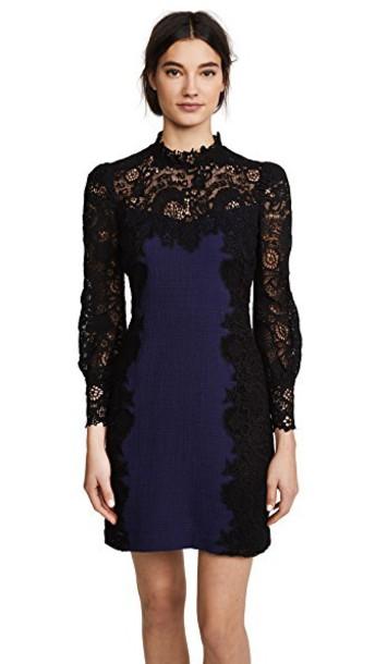 Rebecca Taylor dress violet