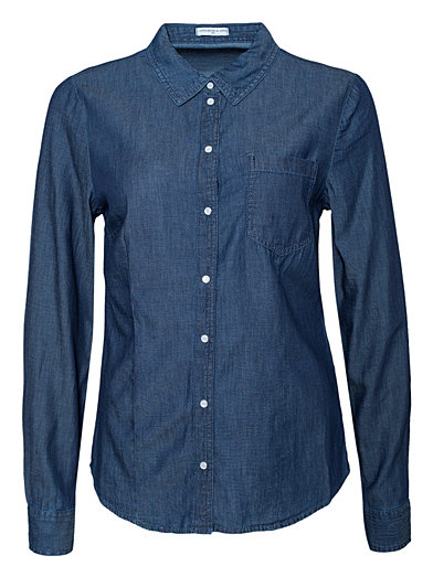 Apolo Denim Shirt - Jacqueline De Yong - Denim - Blouses & Shirts - Clothing - Women - Nelly.com