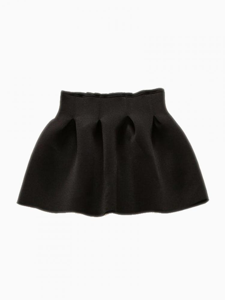 Mini High Waisted Skirt In Black | Choies
