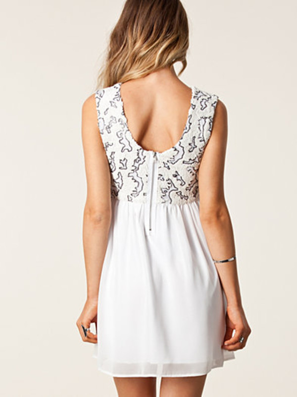 dress lovely white dress cute dress