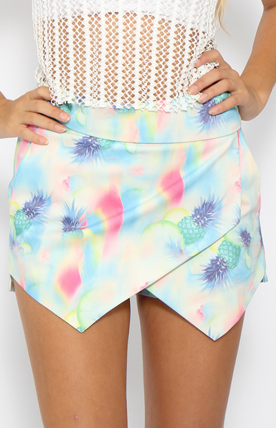 Mocktail Skort - Print | Sale | Peppermayo