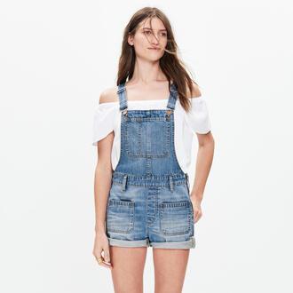 jeans overalls dungarees denim clothes short overalls