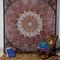 Mandala tapestry hand block print mandala tapestry bedspread, indian tapestry, bohemian bed cover, tapestry, bed spread, mandala