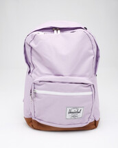 bag,lavendar,lavender,light purple backpack,purple herschel,herschel supply co.,backpack,purple backpack,cute backpack,purple,pastel bag