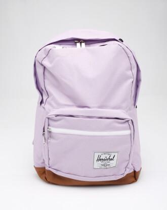 bag lavendar lavender light purple backpack purple herschel backpack herschel supply co. purple backpack cute backpack purple pastel bag