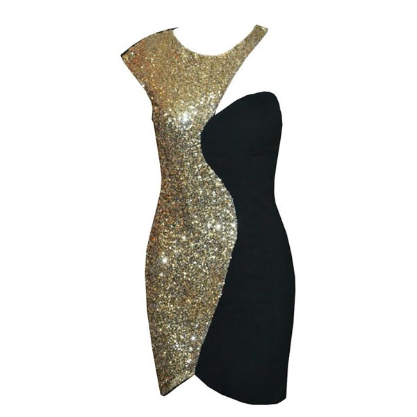 Three colors stylish stitching sequins bodycon dress. party dress · fe clothing · online store powered by storenvy