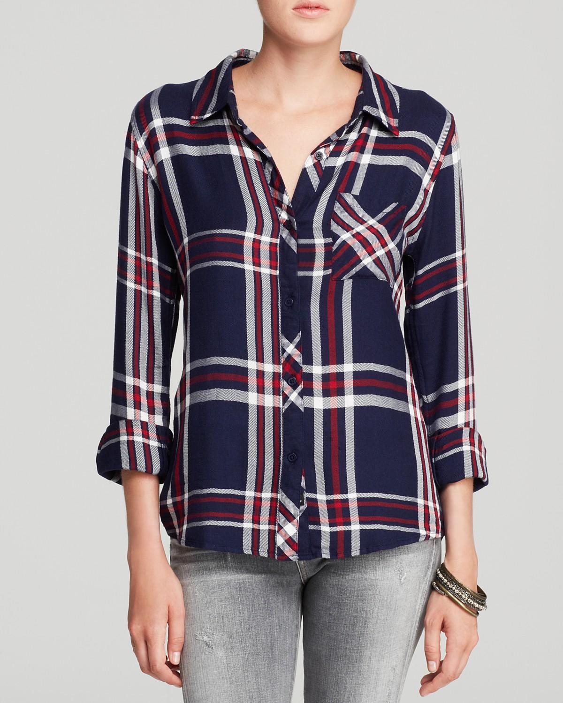 6e220227edf6c Rails Shirt - Hunter Plaid