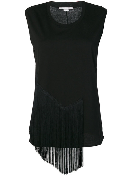 top sleeveless top sleeveless women cotton black