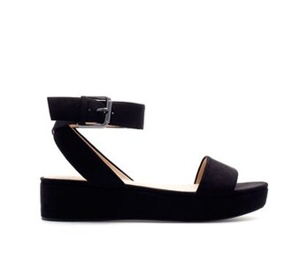 shoes flatforms flat sandals ankle strap flatform sandals