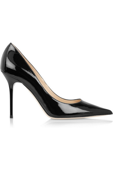 Jimmy Choo | Abel patent-leather pumps | NET-A-PORTER.COM