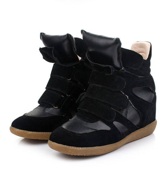 Suede High-top Sneakers - Sneakers - Shoes