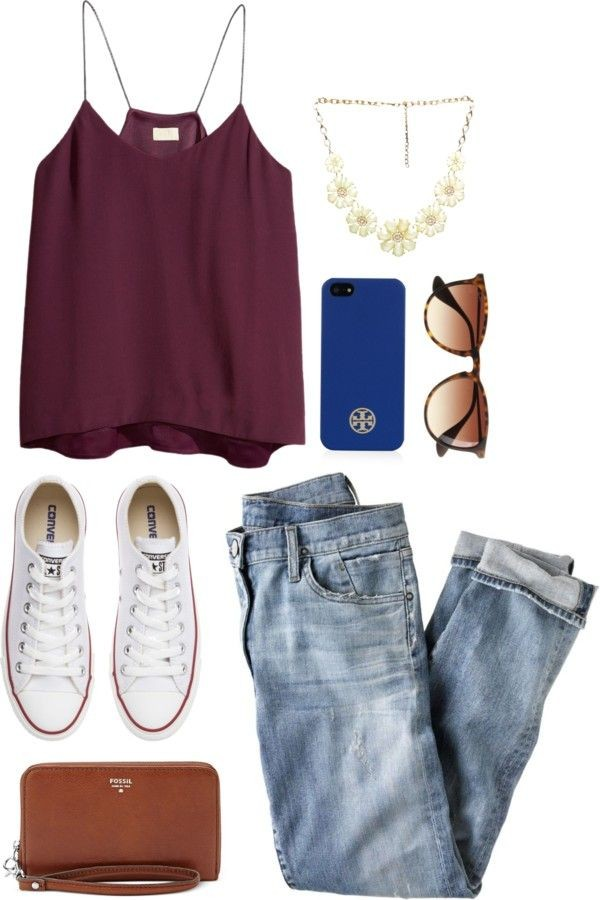 tank top burgundy crop tops sunglasses blouse shirt red top denim