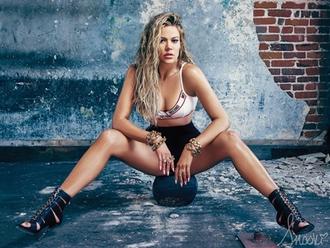 underwear khloe kardashian fitness sandals