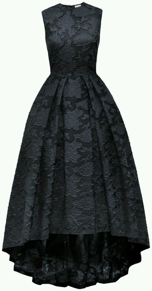 lace dress black prom dress amazing #classy #floorlength