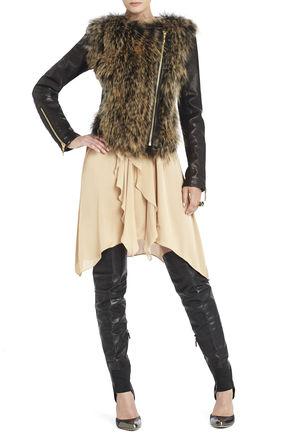 Hannah Fur Coat | BCBG