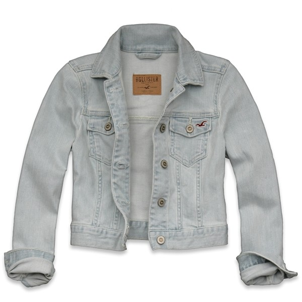 Hollister Co Fountain Valley Denim Jacket